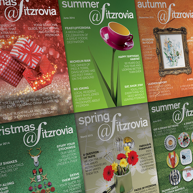 Fitzrovia Spring Newspaper